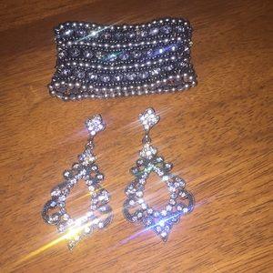 New WO Tags Earrings & Bracelet Make A Statement!